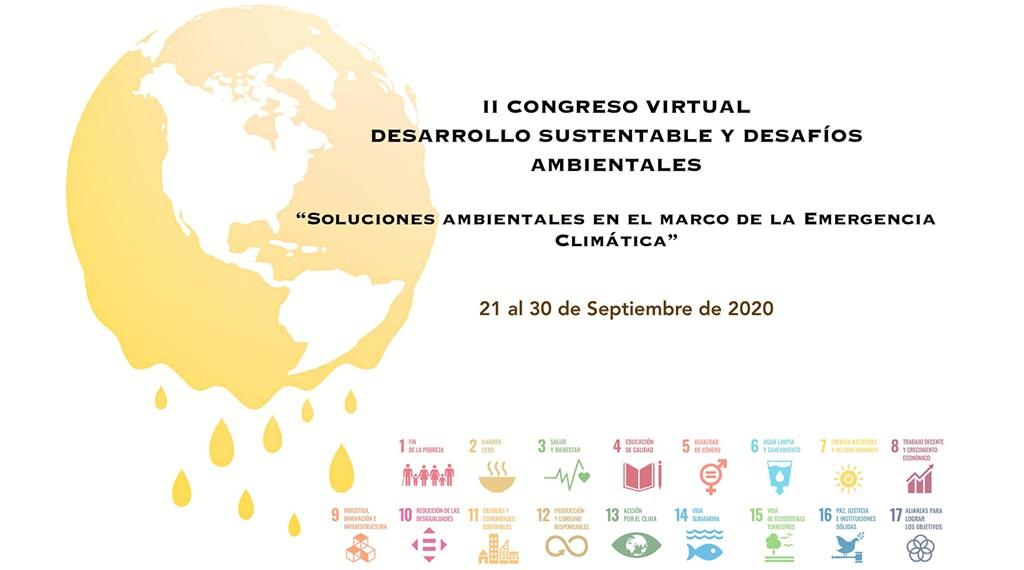 II Congreso virtual desarrollo sustentable y desafíos ambientales