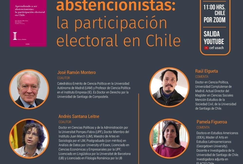 Conversatorio: «Aprendiendo a ser abstencionistas: la participación electoral en Chile»