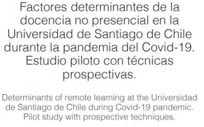 Participantes del Diplomado en Métodos Prospectivos publican estudio de los factores incidentes en la docencia no presencial